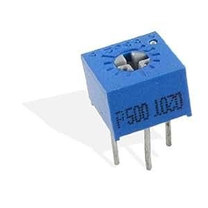 3 x 50 ohm 1/2W 5% Trimmer Pot Cermet Variable Resistors