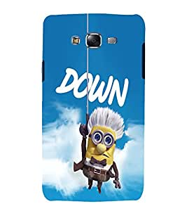 printtech Minion Up Back Case Cover for Samsung Galaxy A7 / Samsung Galaxy A7 A700F