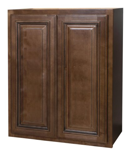 Kraftmaid kitchen cabinets all wood cabinetry w2430 hcg for 30 inch kitchen cabinets
