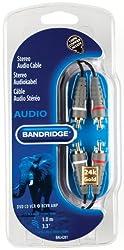 Bandridge BAL4201 - 1.0M Stereo Audio Cable
