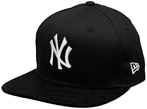 new-era-mlb-poly-core-neyyan-blk-berretto-linea-new-york-yankees-da-uomo-colore-nero-taglia-s-m
