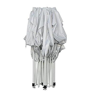 Outsunny® Faltpavillon Pavillon Faltzelt Partyzelt Gartenzelt 3x4,5m Weiß NEU von hergestellt für Outsunny - Gartenmöbel von Du und Dein Garten