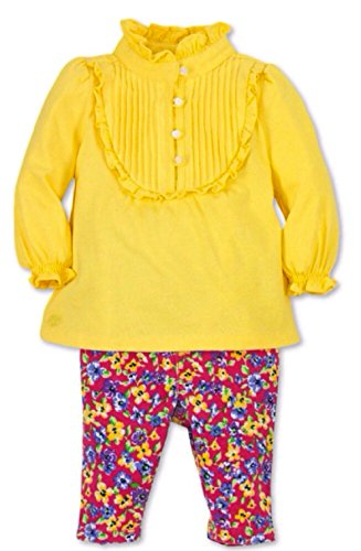 Polo Ralph Lauren Infant Girls' Ruffle Tunic & Floral Pants (9 Months) front-1036021