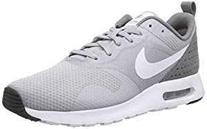 Nike Air Max Tavas Zapatillas de running, Hombre, Gris / Blanco (Wolf Grey/White-Cool Grey-Wht), 40