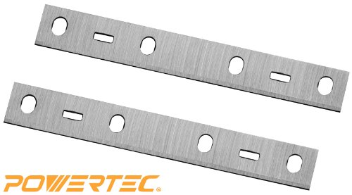 POWERTEC 148010X 6-Inch Jointer Knives for Delta 37-070, JT160, HSS, 2-Piece