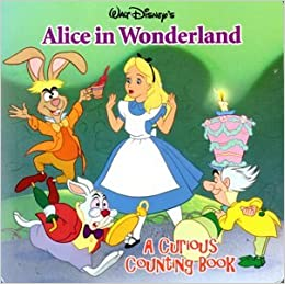 Walt Disney's Alice in Wonderland (Board Book): Cassie Caragan