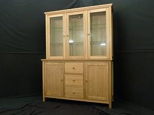 Schreiber Windsor Oak Sideboard With Dresser