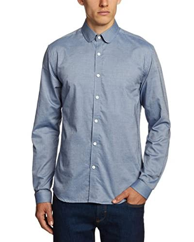 Selected Homme Camicia Uomo Shelby [Blu]
