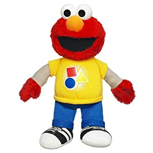 Sesame Street Talking Elmo Plush Rocking Shapes and Colors