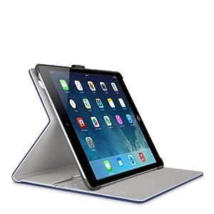 Belkin Real Leather Multi Tasker Pro Case for iPad Air in Navy - F7N059b2C01 from Belkin