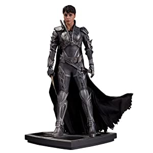 Superman Man of Steel Faora Iconic Statue