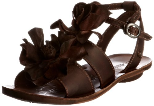 Neosens Women's S413 Daphni Brown Open Toe Flats 5 UK, 38 EU