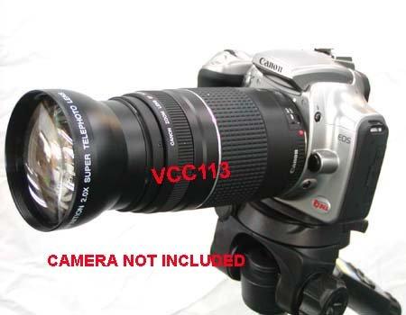 2.2X Telephoto Lens For Nikon Zoom-Nikkor 70-300Mm F/4-5.6G Af Nikkor D5200 D3200 D600 D800 D7000 D5100 D5000 D300S D3100 D90 D40 D40X