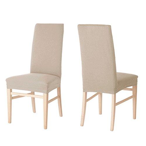 Prix des housse chaise 9 - Housse de chaise beige ...