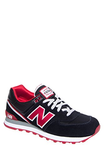 New Balance Women's 574 Suede Stadium Jacket Athletic Sneaker
