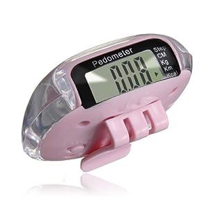 Podomètre Pédomètre Compteur Calorie Jogging Marche Course Sport Distance NEUF