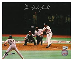 Signed Winfield Picture - Minnesota Twins 8x10 - Mounted Memories Certified -...