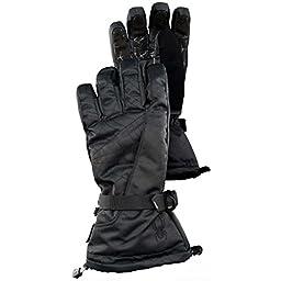 Spyder Men\'s Overweb Ski Glove Medium Black