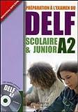 echange, troc Marie-Christine Jamet, Odile Chantelauve - Préparation à l'examen du DELF A2 scolaire & junior (1CD audio)