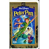Peter Pan (45th Anniversary Limited Edition) [VHS] ~ Bobby Driscoll