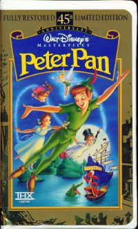 Peter Pan (Fully Restored 45th Anniversary Limited Edition) (Walt Disney Masterpiece Collection) [VHS]
