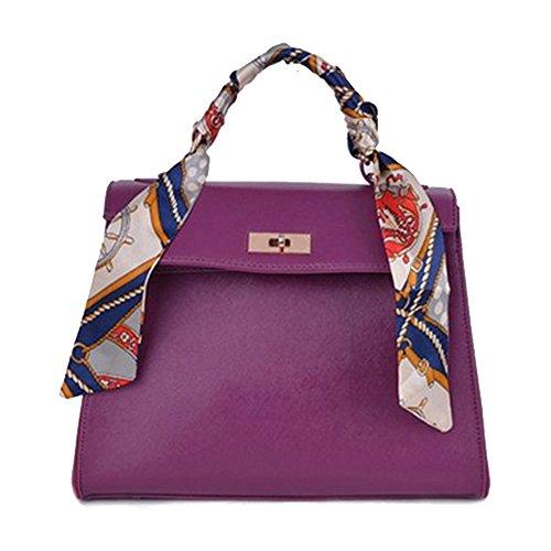 D.jiani® Lady borsa di modo sciarpa fibbia decorativa Messenger bag coreano