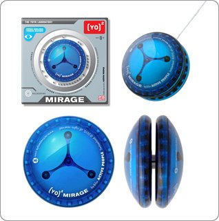 ActivePeople Mirage Yo-Yo Spin Tricks Loop Routine Kids Educational Toy