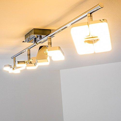 led-lampadario-con-faretti-mobili-plafoniera-new-braccio-led