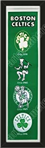 Heritage Banner Of Boston Celtics-Framed Awesome & Beautiful-Must For A... by Art and More, Davenport, IA