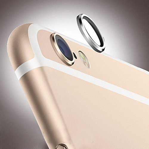 """Lens Protective Case Cover Ring Installed for iPhone 6 4.7"""" 6 Plus Camera Lens (GOLDEN)"""
