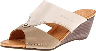 Naya Women's Fabiana Wedge Sandal,Taupe Multi,5 M US
