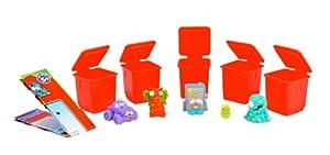 The Trash Pack Trashie Set includes 10 Trashies / 10 Bins (Twin Pack)