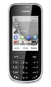 Nokia Asha 202 Dual SIM Capable SIM Free Mobile Phone - Silver/White