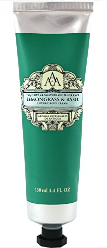 AAA Aroma Lemongrass & Basil Luxury Body Cream 130ml (Antigua Aromas compare prices)