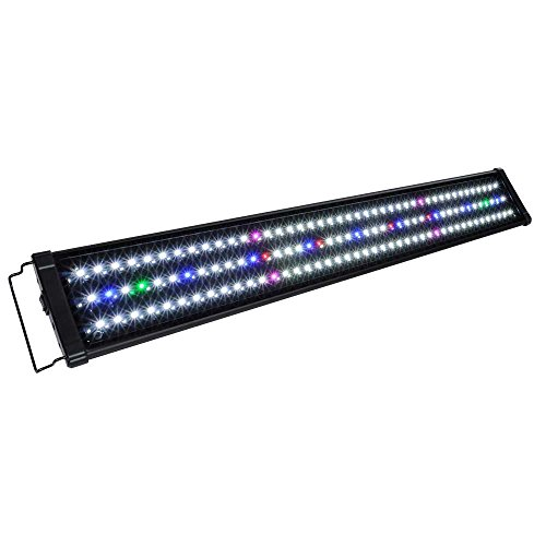 Koval Inc 129 LED Aquarium Light with Extendable Brackets, 36-Inch to 43-Inch (Aquarium Hood 55 Gal compare prices)