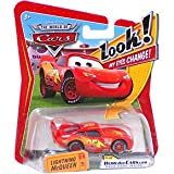 41nGIz99ThL. SL160  Disney / Pixar CARS Movie 1:55 Die Cast Car with Lenticular Eyes Lightning McQueen