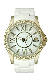 JLO Three-Hand Ceramic - White Women's watch #JL/2700WMWB