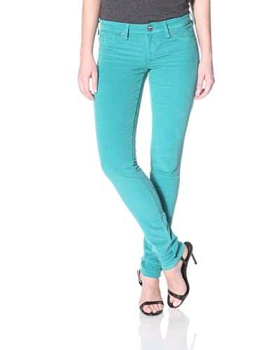 SOLD Design Lab Women's Cord Skinny Jean  - Fresh Mint