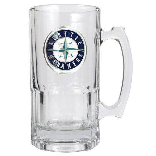 BSS - Seattle Mariners MLB 1 Liter Macho Mug - Primary Logo at Amazon.com