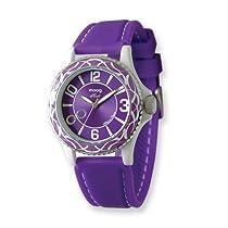 Moog Fashionista Huit Purple Dial/Purple Silicon Strap Watch
