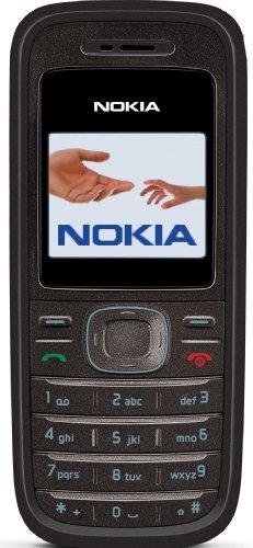 Nokia 1208 black (Farbdisplay, Organizer, Spiele) Handy