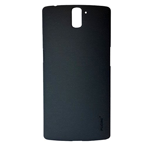 Pudini Original Quicksand Matte Finish Back Cover Case for OnePlus One - Sand Black