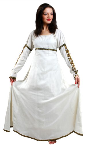 Armor Venue Women's Forest Princess Dress - Renaissance Gown Costume