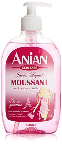 ANIAN - MOUSSANT JABON liquido aroma genuino 500 ml-unisex