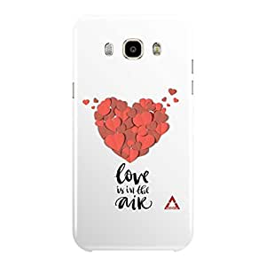 a AND b Designer Printed Mobile Back Cover / Back Case Cover For Samsung Galaxy J7 (2016)