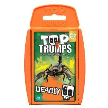4 X Top Trumps Deadly 60 Card Game