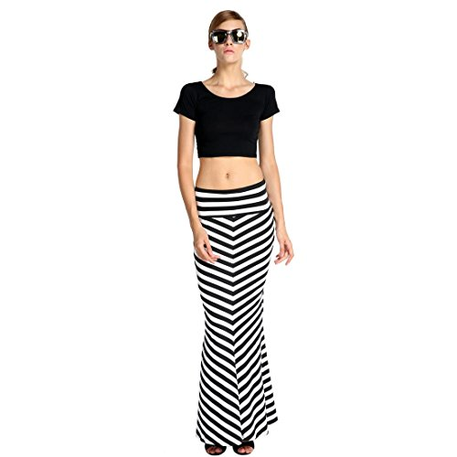 Fitted Maxi Skirt front-1056981
