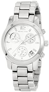 Michael Kors Silver Small Runway Chronograph Watch MK5428