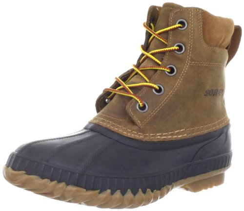 SOREL Mens Cheyanne Lace seamsealed waterproof boot with Thinsulate lining - Colour Curry (10)