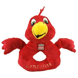 Liverpool Fc Baby Rattle - Mascot - Football Gifts from Official Football Merchandise